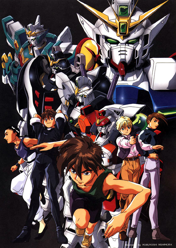gundam wing wallpaper. Gundam Wing Haven